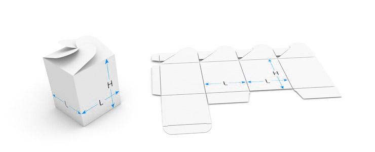 Üstten birleştirme kutu (kare)